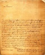LETTRE DE LIEGE - 1781 - SIGNEE COMTE LANNOY DE CLERVAUX - Manuscrits