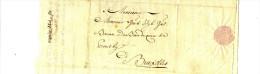 MARINE - ANVERS POUR BXL 1784 - BARON BAUDEQUIN DE COUTHY - BARON DE BORREKENS - Manuscrits