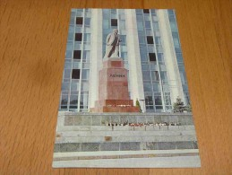 Kishinev. Monument To V. I. Lenin On Victory Square Sculptor S. D. Merkurov Moldova - Moldavia