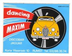 AUTOCOLLANT STICKER RUMST - DANCING MAXIM - Autocollants