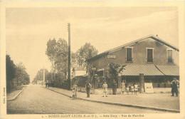 CPA      Boissy Saint Leger  Bois Clary Rue De Marolles Pub Chicorée Bayon  (animée)      446 - Boissy Saint Leger