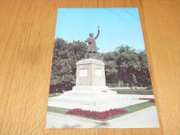 Kishinev. Monument To Stephen The Great Moldova - Moldavia