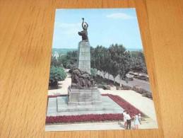 Kishinev. Monument To Heroes-Members Of Komsomol Moldova - Moldavia