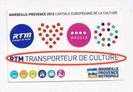 Ticket M�tro Solo : Marseille. (Voir commentaires)