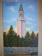 CPA USA - Etats-Unis D'Amérique - Delaware - Wilmington - Alfred I. Dupont Memorial Carrillon Tower - Colorisée - Wilmington