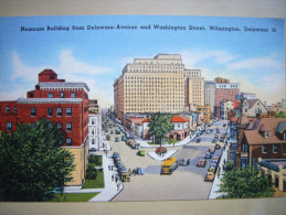 CPA USA - Etats-Unis - Delaware - Wilmington - Nemours Buildingfrom Delaware Ave And Washington St - Colorisée - Wilmington