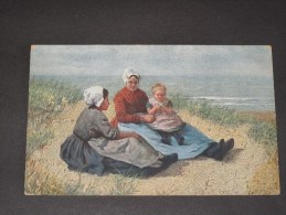 N..STEFFELAAR - BABBELUURTJE -  Leiden - 1913 - Peintures & Tableaux