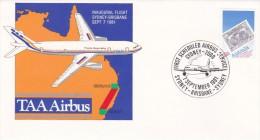 Australia 1981 TAA Airbus Inaugural Flight Sydney-Brisbane Souvenir Cover - Australia