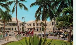 Amérique - Attelage De Chevaux - Voitures - Automobile - Antilles - Bahamas - Rawson Square - état - Bahamas