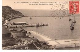 Port En Bessin (Ryes-Bayeux-Calvados)-1913-La Tour Vauban-La Poissonnerie-vers Un Commis Greffier à Saint-Lô (voir Scan) - Bayeux
