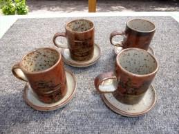 Tasse Céramique ( 4 ) - Le Porcher - Tasses