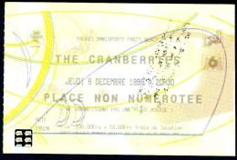 concert des CRANBERRIES au POPB le 9 d�cembre 1999