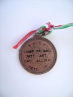 1976  CAMPIONATO ITALIANO  CAT. ALLIEVI   AHPP  PATTINAGGIO  PATINAGE  MEDAGLIA - Skating (Figure)