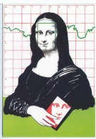100 Amis De CPC Carte Postale Collections Lola Munoz Pons Cher Léonard Joconde Mona Lisa - Other Illustrators