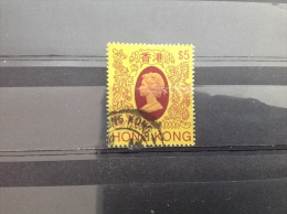 Hong Kong - Koningin Elizabeth II ($5) 1985 High Value €11,- - Hong Kong (...-1997)