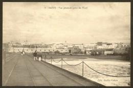 SAFFI Vue Générale Prise Du Warf 1916 (Cohen N°9) Maroc Afrique - Otros
