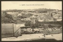 SAFFI Centre De La Ville Et Du Camp Militaire 1916 (Cohen N°4) Maroc Afrique - Otros