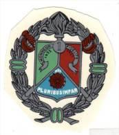 Decalcomanie Légion Etrangère, 1er  Régiment ? - Ecussons Tissu
