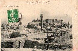 ALEP VUE PARTIELLE EN 1915 (CARTE TURQUE) - Syrië