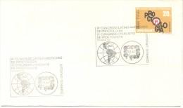 OCTAVO CONGRESO LATINOAMERICANO Y SEGUNDO CONGRESO URUGUAYO DE PROCTOLOGIA HEMORROIDES ALMORRANAS AÑO 1981 FDC SOBRE