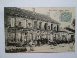 BREUVANNES - La Mairie - 14 Juillet - Other Municipalities