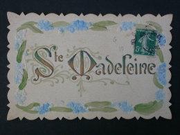 Ref3228 WA CPA Gaufrée Et Dorée Pour La Fête De Sainte Madeleine - 1910 - Holidays & Celebrations