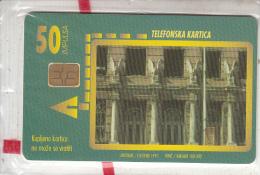 BOSNIA - Zgrada Glavne Poste(50 Units), 10/97, Mint - Bosnia