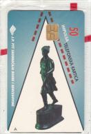 BOSNIA - Statue, Zemaljski Museum(50 Units), 10/97, Mint - Bosnia