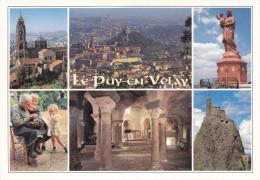 Ph-CPM Le Puy En Velay (Haute Loire) Multivues - Le Puy En Velay