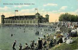 224051-Ohio, Cleveland, Gordon Park, Bathing Scene, Braun Post Card Co No A-6278