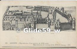 AMBOISE - Reproduction D'une Gravure Du XVIe Siècle - N° 110 - Amboise