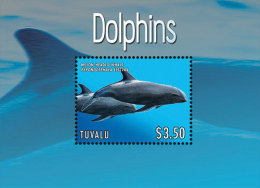 TUVALU  1250 ; IGPC 1312 S ; MINT N H STAMPS ( DOLPHINS - Tuvalu