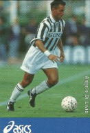 SPORT FOOTBALL ANGELO DI  LIVIO FOOTBALLEUR ITALIEN  SPONSOR OASICS - Fútbol