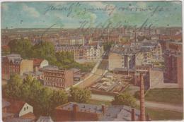 AK - GLEIWITZ (Gliwice) - Panorama 1909 - Schlesien