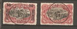 Stempel Elisabethville - Leopoldville, centrale stempel/opdruk 15