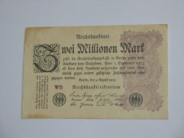 2 000 000 Zwei Millionen Mark 1923 -  Reichsbanknote - Germany - Allemagne **** EN ACHAT IMMEDIAT **** - 2 Millionen Mark