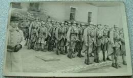 Carte Photo Militaire - Bitche 1932 11eme Compagnie 2eme Section - Bitche
