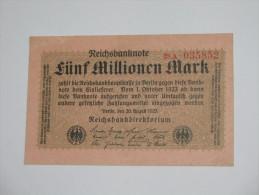 2 000 000 Zwei Millionen Mark 1923 -  Reichsbanknote - Germany - Allemagne **** EN ACHAT IMMEDIAT **** - 5 Millionen Mark