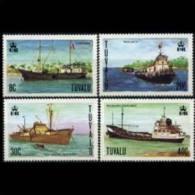 TUVALU 1978 - Scott# 77-80 Ships Set Of 4 MNH (XL731) - Tuvalu