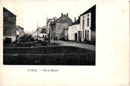 LUXEMBOURG    4 CP  Etalle  Rue Du Moulin  Vallée De Buzinal  Semois  1903  Grand Pont - Etalle