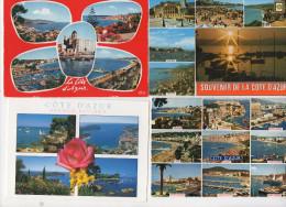 Lot  De 40 CARTES COTE D AZUR - 5 - 99 Cartoline