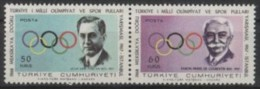 TURKEY 1967 - 1st TURKISH OLYMPIC COMPETITION - DE COUBERTIN - MINT - Zomer 1968: Mexico-City