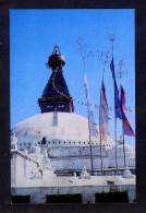 Nepal. Kathmandu. *Boudhanath Stupa, Kathmandu* Nueva. Señales De Uso. - Nepal