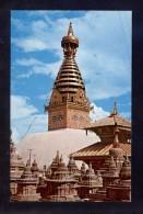 Nepal. Kathmandu. *Swoyambhu Nath Temple* Nueva. - Nepal