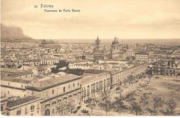 SICILIA-PALERMO VEDUTA PANORAMA DA PORTA NUOVA - Palermo