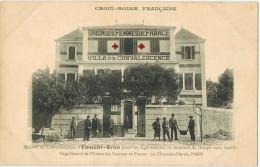 MILITARIA LEGION ETRANGERE : CROIX ROUGE EKMÜHL ORAN  Union Des Femmes De France Légionnaires Convalescence Pupilles - Guerres - Autres