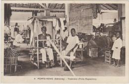 PORTO-NOVO - Tisserand (Foire Exposition) - Dahomey