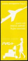 # TRIESTE AIRPORT TIMETABLE SUMMER 2014 Leaflet Aviation Flight Horaire Flugplan Orario Indicateur Calendario Venezia - Timetables