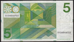 "Pays Bas-Netherlands  5 Gulden "" Vondel II "" 28-3-1973  -NR:5136046722 - 5 Florín Holandés (gulden)"