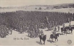 Off For The Front. -  American Infanterie Troops. - Oorlog 1914-18
